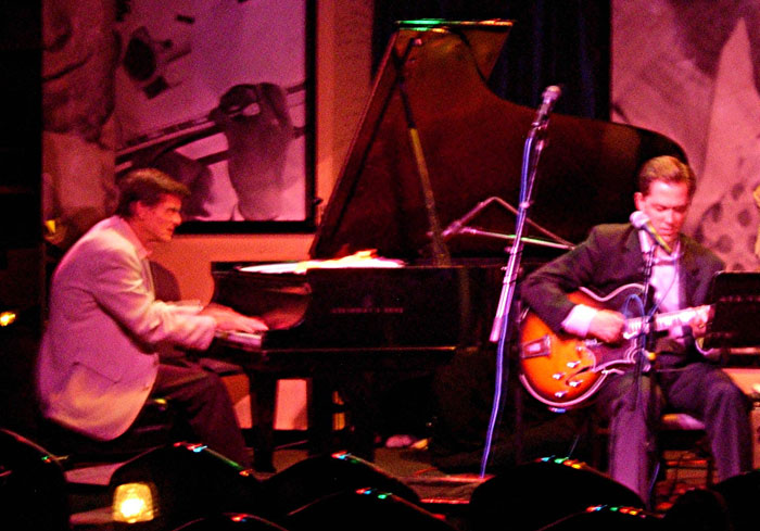 Andy Brown with Hod O'Brien at the Jazz Showcase